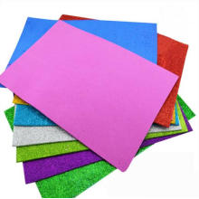Craft Glitter Paper Carton, Black Gliter Card Paper
