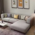Fabric Upholstered Daybed Chaise Sectional Sofa