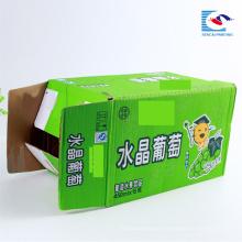 Cajas de empaque corrugado impreso de buena calidad para 15 botellas de bebidas