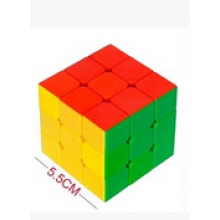Третьего порядка супер-прочный с яркими цветами 3х3 магический куб головоломка игрушка
