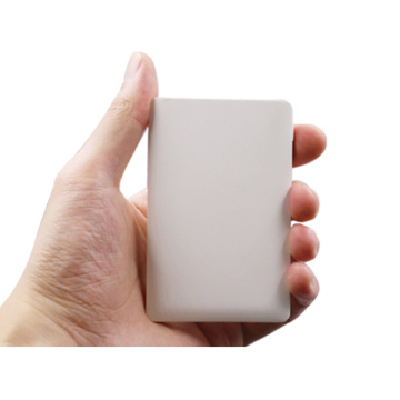 2018 Nuevo producto Wireless Small Card Power Bank