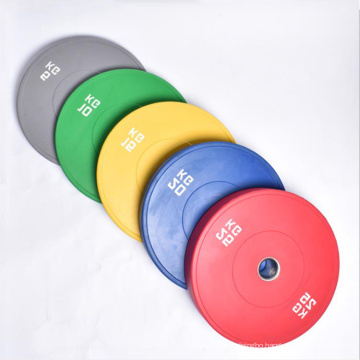 Rubber Barbell plates Weight lifting Bumper barbell Plates barbell weight plate