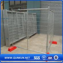 Panel de cerramiento de seguridad temporal galvanizado