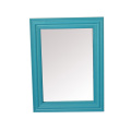 Gabinete de espejo de plástico de baño clásico para Home Deco