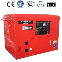 Uso de fábrica de gasolina insonorizada conjunto generador (BH8000)