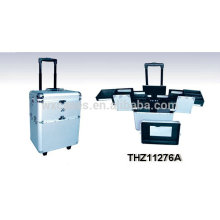professional makeup trolley case with different color options
