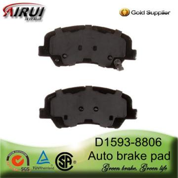 Pastilha de freio D1593-8806 para Hyundai Accent(OE:581011RA00)