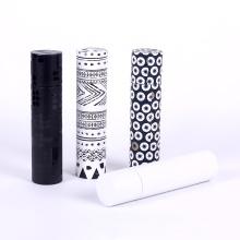 Boîte de cadeau de papier de cylindre de conception de différence pour l'emballage