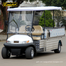 EXCAR Electric utility Cart golf cart 2 seats electric pedestrian controlled pallet truck