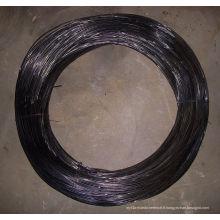 Fil recouvert noir / Fil galvanisé / Fil de liaison pour la construction