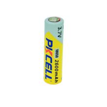 Entrega rápida 3.7 v bateria de iões de lítio recarregável