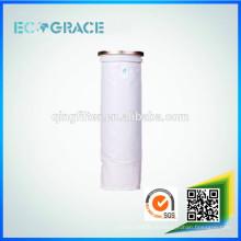 PPS / PTFE / P84 / Bolsa de filtro de filtración de polvo Aramid