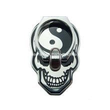 Schädel-Form-Finger-Ring-Halter für Handy, Metall-Handy-Halter