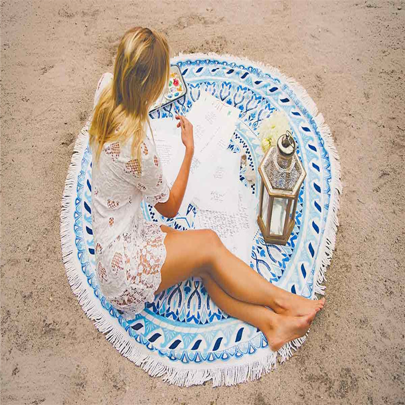 Epoch Round Beach Towel