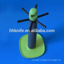 Пластиковый кухонный держатель с 6 вешалками