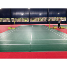 Anti-slip indoor PVC Badmintion lantai olahraga