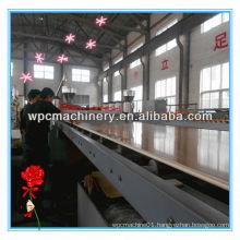 Machine line for wpc foam plate extrusion/foam production line/hdpe pipe extrusion machine/line