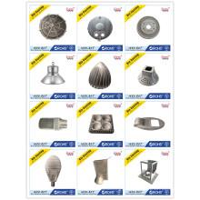 L'aluminium de haute précision moulage mécanique sous pression pour des couvertures d'éclairage