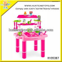 Meistverkaufte Spielzeug für Mädchen Baby Spielzeug Küche mit Sound & Licht H105387 gesetzt