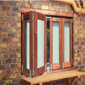 Aluminum Bifold Windows with Low-E Glazing