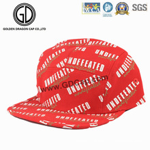 2016 Hot Great Fashion Design Undefeated Printing Snapback Camper Cap