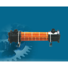 Hydraulic oil cooler used in metallurgical machinery