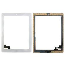 Digitizador al por mayor del reemplazo para la pantalla táctil del iPad 2 + Asamblea casera del botón