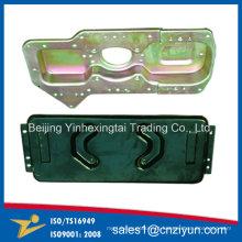 Formação de chapa metálica personalizada com cor de zinco amarelo