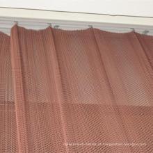 Malha de cortina de janela / malha de arame de construção