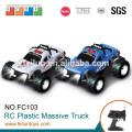 4CH 1:10 scale digital electric 4WD off road plastic rc model truck with lights