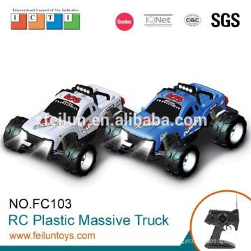 4CH 01:10 skaliert digitale elektrische 4WD aus Kunststoff Rc Modell Lkw mit Lichtern