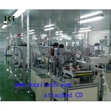 Machine non tissée pour masque facial jetable Kxt-FKM01 (CD d'installation joint)