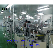 Non Woven Machine for Disposable Face Mask Making Kxt-FKM01 (attached installation CD)