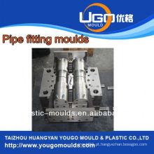 Fornecedor de moldes de plástico para moldagem de tubo de cpvc de tamanho padrão, moldagem em taizhou China