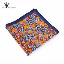 Gravata de seda atacado novo design e conjunto quadrado de bolso