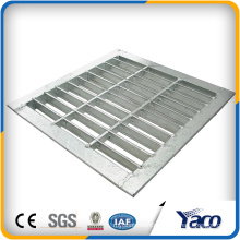 Best Selling Products 150mm 300mm 450mm width 304 stainless steel floor drain grate steel grating