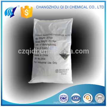 Polvo H3PO3 del ácido 99% del fósforo de la alta calidad