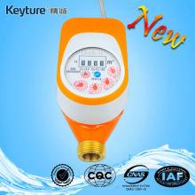 Wired Remote Valve Control AMR Water Meter Orange