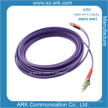 Cordón de conexión de fibra óptica LC-LC