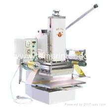 Tam-358 agendas gaufrage manuel porte-documents machine à estamper à chaud