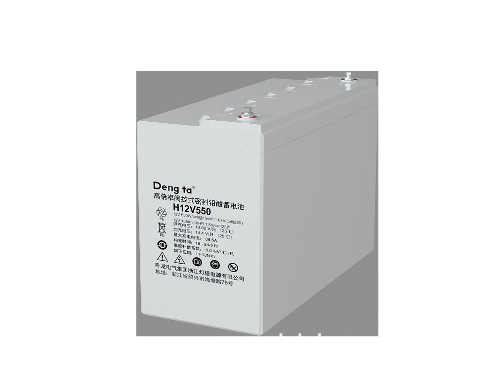 Valve-regulated Sealed Lead Acid Battery, Maintenance Free Battery Of High Energy, 12V 660Ah Lead Acid Battery