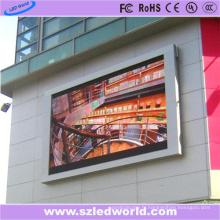 Panneau d'affichage extérieur polychrome d'écran de P8 HD LED imperméable