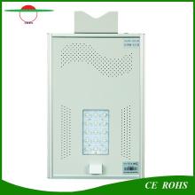 Ce, RoHS, IP65 Сертифицированные высокие яркие уличные светильники Все в одном Bridgelux Солнечный светодиодный уличный фонарь 15 Вт с датчиком движения