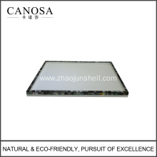 Black Lip Shell Vanity Trays for Guestroom