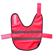 Red hi viz child school safety vest