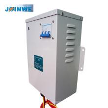 Sistema de ahorro de energía eléctrica de recinto de metal de 3 fases