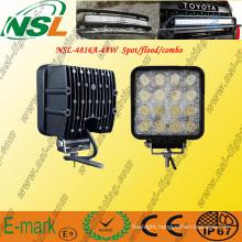 12V 24V 48W LED Work Light Lamp 4x4 off-Road Tractor LED Boat Light
