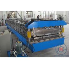 Hoja de acero galvanizada de doble capa y hoja de techo Máquina de laminación en frío