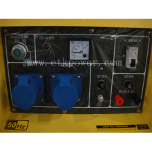 Grupo electrógeno diesel de Protable de 2-7kw refrigerado por aire (DG7250LN)