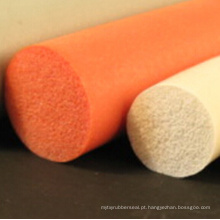 Tira colorida flexível personalizada da esponja da borracha de silicone
